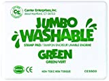 : Center Enterprise CE5503 Jumbo Washable Stamp Pad, Green