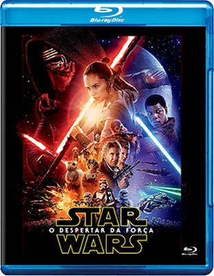 Blu-ray Star Wars: Episode VII The Force Awakens[ Brazilian Edition ] [ English, Portuguese, Russian, Kazakh ] [ Region A ]