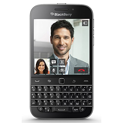 (BlackBerry Classic Q20 SQC100-2 16GB Unlocked GSM 4G LTE Keyboard Smartphone -)