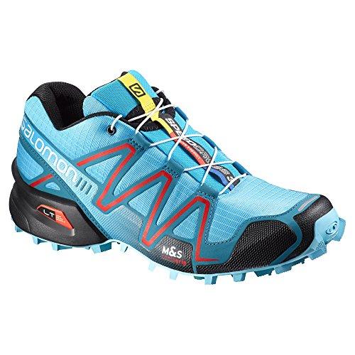 Trail Red Blue Radiant Blue Women's Speedcross Salomon Azurin Shoe 3 Running Fog xqtTqwvP0