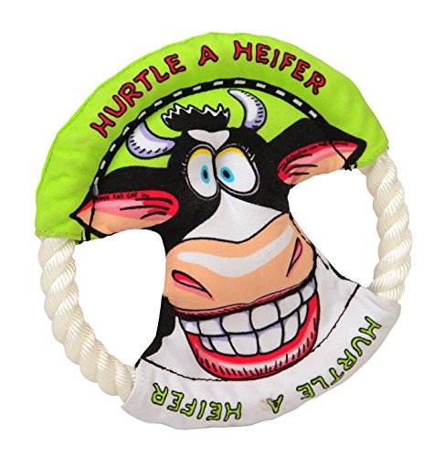 lovely-baby-best-pet-training-frisbee-with-rope-ring-animal-pattern-of-funny-heifer-non-toxic-flying