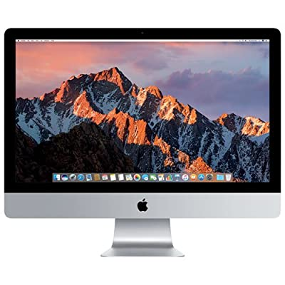 "Apple iMac 27"" Desktop with Retina 5K display - 4.2GHz quad-core Intel Core 7th-gen i7, 2TB Fusion Drive, 32GB 2400MHz DDR4 Memory, Radeon Pro 580 with 8GB video memory, macOS, (Mid 2017)"