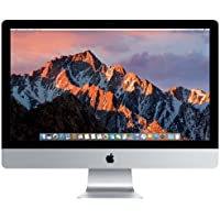 Apple iMac 27 Desktop with Retina 5K display - 4.2GHz quad-core Intel Core 7th-gen i7, 1TB Fusion Drive, 16GB 2400MHz DDR4 SDRAM, Radeon Pro 575 with 4GB video memory, macOS, (Mid 2017)