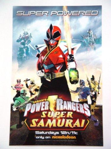 Saban's Power Rangers Super Samurai 11 X 17 Poster from Power Rangers