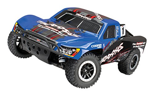 Traxxas Slash 4X4 1/10 Scale LCG 4WD Electric Short Course Truck with TQi 2.4GHz Radio, OBA & TSM, Kincaid
