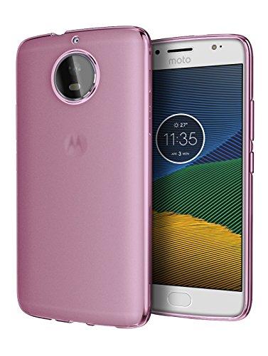 Moto G5S Plus GS5+ Case, Cimo [Matte] Premium Slim Protective Cover for Motorola Moto G5S Plus GS5+ - Pink