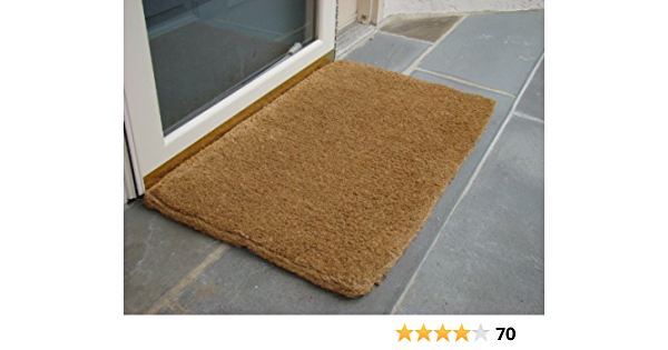 Amazon Com Imports Decor Coir Doormat Plain Coco 22 Inch By 36 Inch Out Side Porch Rug Garden Outdoor