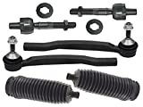 Volvo XC-70 (04-07) IN+OUT TieRods +Boots (6pcs) NORDIC