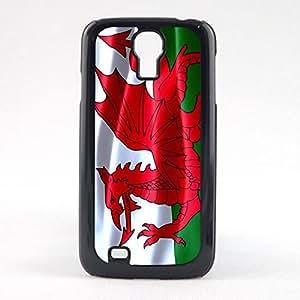 Case Fun Case Fun Flag of Wales Snap-on Hard Back Case Cover for Samsun Galaxy S4 Mini (I9190)