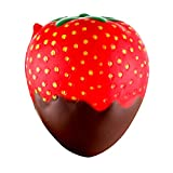 Clearance Sale!JPJ(TM)1Pcs Kids Fashion Strawberry Scented Squishy Slow Rising Squeeze Toys Jumbo Collection 11.5cm (A)
