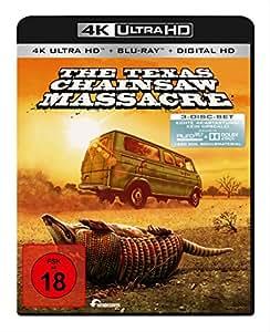 The Texas Chainsaw Massacre (4K UHD + Region B Blu-ray) (German version) 1974