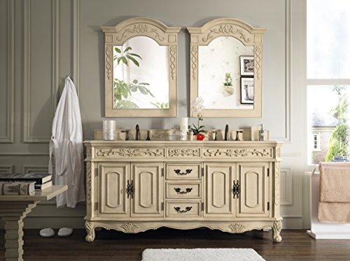 James Martin Furniture 72 in. Bathroom Double Vanity in Cream Finish 497955 from James Martin Furniture