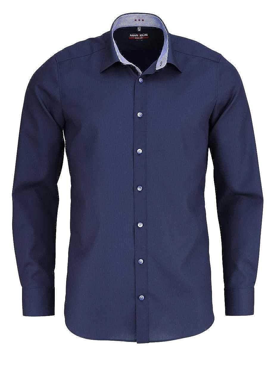 TALLA 41. Marvelis - Camisa Casual - Liso - para Hombre