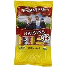 Newman's Own Organics Raisins, 0.5-Ounce, 14-Count Mini Boxes (Pack of 12)