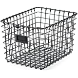 Spectrum Diversified 47876 Storage Basket, Small, Industrial Gray