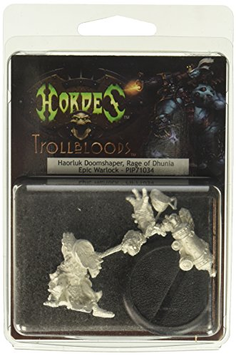 Privateer Press - Hordes - Trollblood: Epic Warlock Hoarluk Doomshaper Model Kit 3