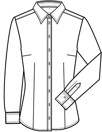 GREIFF - Camisas - Clásico - Manga Larga - para mujer blanco