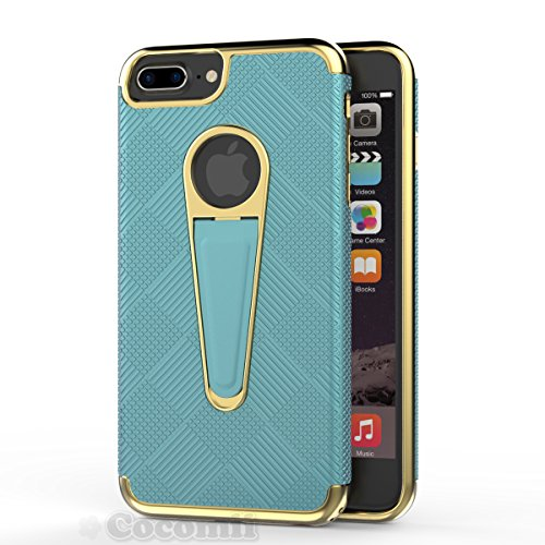iPhone 8 Plus / 7 Plus Case, Cocomii Angel Armor NEW [Heavy Duty] Premium Tactical Grip Kickstand Shockproof Hard Bumper Shell [Military Defender] Full Body Dual Layer Rugged Cover Apple (Turquoise)