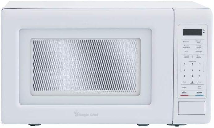 Magic Chef Hmm770w 0.7 cu. ft. Countertop Microwave in White