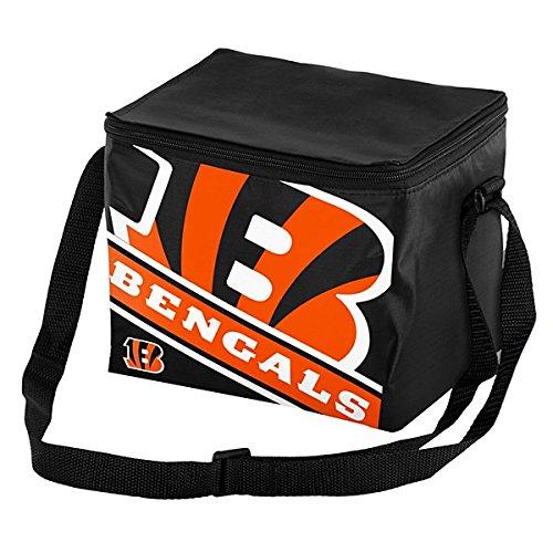 FOCO Cincinnati Bengals Big Logo Stripe 12 Pack Cooler