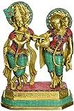 AapnoCraft Large Standing Radha Krishna Statue - Exquisite Divine Couple Radha Krishna Idols Symbol of Love Sculpture Wedding Gifts