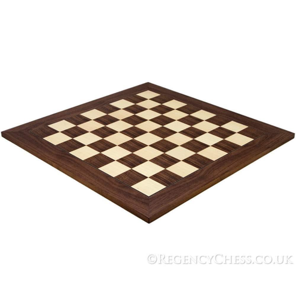 54.9cm Montgoy Palisanderholz und Ahorn Schach Board