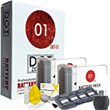 DOT-01 2x Brand Canon G9X MARK II Batteries for Canon G9X MARK II Digital Camera and Canon G9X II Accessory Bundle for Canon NB13L NB-13L