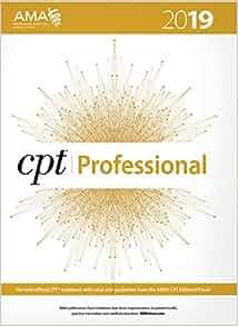 2019 Current Procedural Terminology Professional