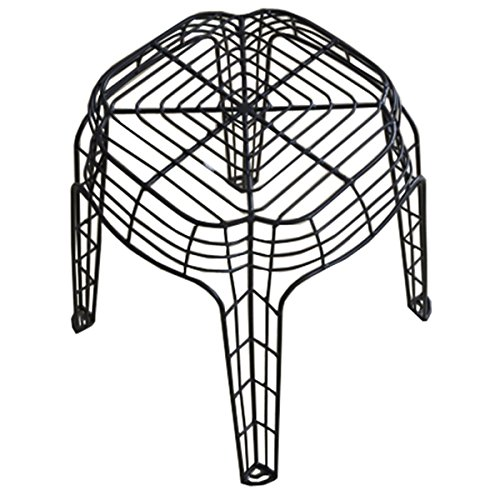 Patio Furniture/ Side Stool Contemporary, Metal Unique Transparent Wire 20-inch Stool - Eco-Friendly BT-FL027STOOL-K. 20 in High x 18 in Diameter - Pangaea Garden Chair