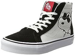Vans Kids Sk8-hi Zip (Peanuts) Joe Coolblack Skate Shoe 11 Kids Us