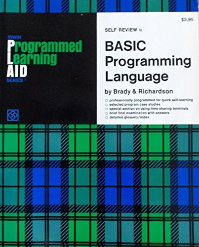Programmed Learning Aid for BASIC Programming Language