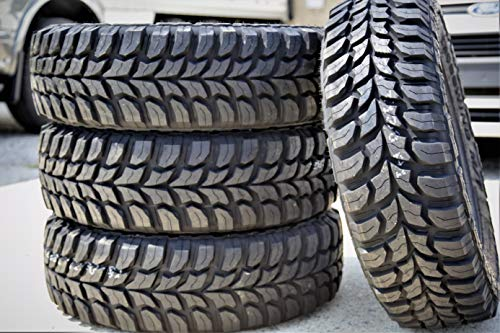 Set of 4 (FOUR) Crosswind M/T Mud Tires - LT265/70R16 110/107Q C (6 Ply)