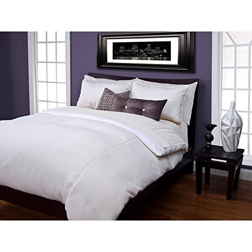 picture of SIS Covers SIS Covers Harbour Shell Duvet Set, White / Cream, 100% Polyester, Twin
