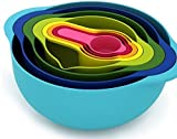 High Quality Kitchen Tools Baking /Cooking Accessories/measuring / Containers 8 Colors Mixed
