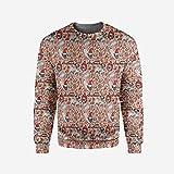 iPrint Mens Safari Pullover Sweater