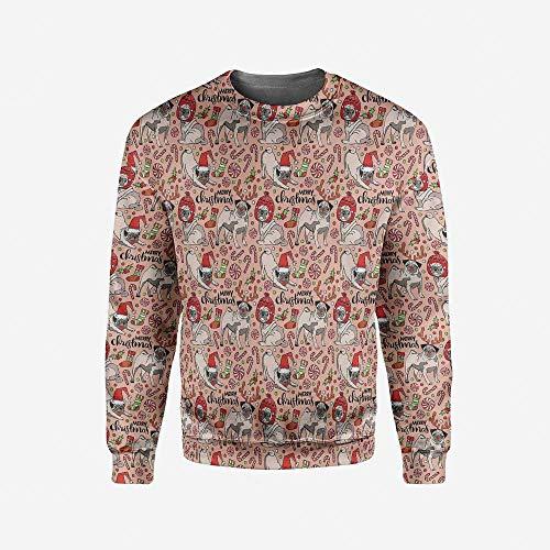 iPrint Mens Safari Pullover Sweater by iPrint