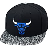 Mitchell & Ness Chicago Bulls Custom Strapback Hat For Jordan 3 Sport Blue