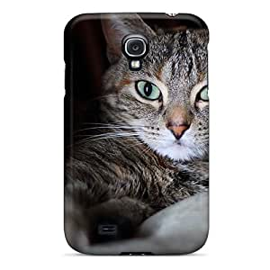 ZbhnY19523JpZJD Case Cover Protector For Galaxy S4 Cute Cat Case