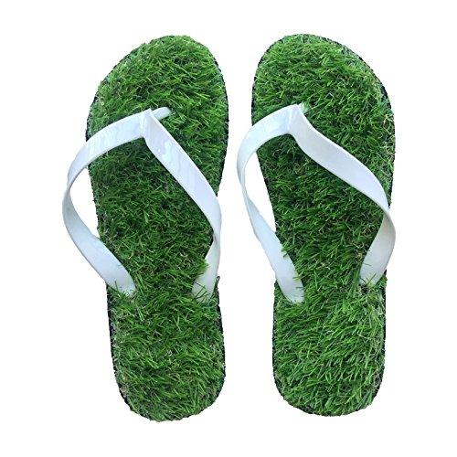 Sandals Kreative Simulation Rasen Coole Hausschuhe