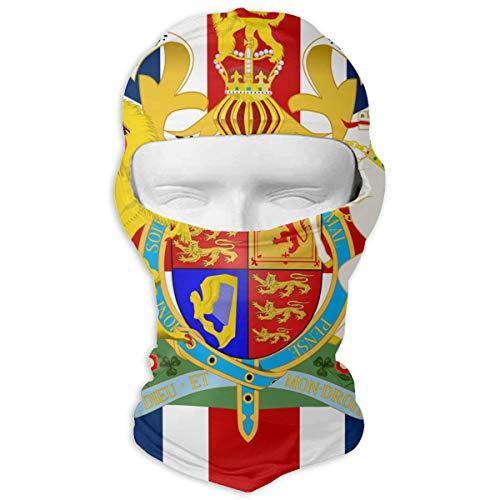 Snowboard Pants Union (Northern Nebula British Flag Balaclava - Windproof Ski Mask - Motorcycle Full Face UV Protection Mask)