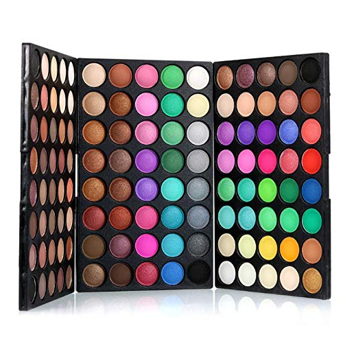 Brand New 120 Colors/Set Long Lasting Eyeshadow Palette Makeup Eyes Glitter Nude Eye Shadow Matte Eyeshadow Cosmetics 2