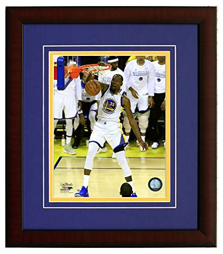 (Golden State Warriors Kevin Durant - Slam Dunk During The 2017 NBA Finals. Framed 8x10 Photo Picture)