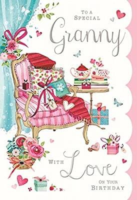 Para un especial Granny - con amor en tu cumpleaños: Amazon ...