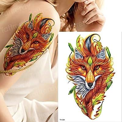 tzxdbh Tatuaje Brazo Hombres Halloween Zombie Cicatrices Tatuajes ...
