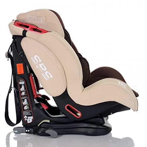 Lovely lcp kids si ge auto gt isofix bebe groupe 1 2 3 inclinable enfant 9 36 kg couleur marron - Siege auto groupe 2 3 isofix inclinable ...