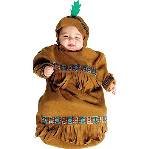 Indian Papoose Baby Bunting Costume