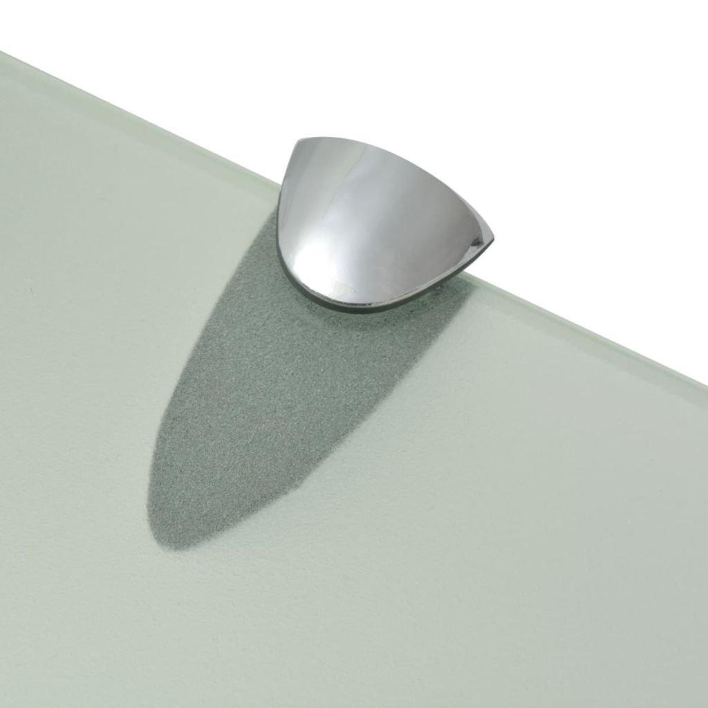 vidaXL Mensola Galleggiante in Vetro 70x10 cm 8 mm