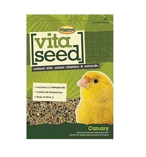 Higgins Vita Seed Natural Canary Bird Food 5 Lb. Bag. Fast Delivery, by Just Jak's Pet Market by Higgins