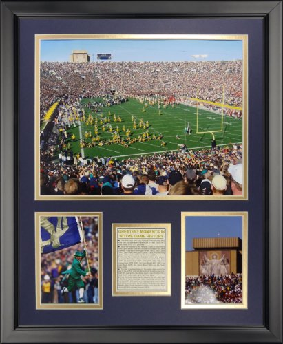 Legends Never Die Notre Dame Stadium Framed Photo Collage, 16