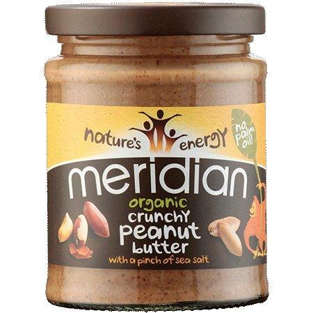 (2 Pack) - Meridian - Nat Crunchy Peanut Butter | 280g | 2 PACK BUNDLE